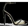ALEVI Bianca Velvet Heel Pumps - Classic shoes & Pumps -