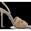 ALEVI Olivia Tulle Slingback Heels - Sandals -