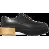ALEXANDER MCQUEEN Leather platform brogu - Uncategorized -