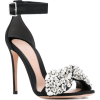 ALEXANDER MCQUEEN Embellished Bow Sandal - サンダル -