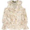 ALEXANDER MCQUEEN Cold-shoulder ruffled - Long sleeves shirts -