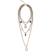 ALEXANDER MCQUEEN Crystal chain harness - Necklaces -