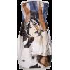 ALEXANDERMCQUEEN 'GODSAVETHEQUEEN' DRESS - ワンピース・ドレス -