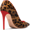 ALEXANDER MCQUEEN Leopard Heart 105 pony - Classic shoes & Pumps - $504.00