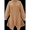 ALEXANDER MCQUEEN Peplum-hem wool-blend - Dresses -