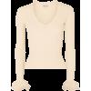ALEXANDER MCQUEENRuffled ribbed-knit swe - Long sleeves shirts -