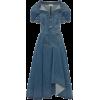 ALEXANDER MCQUEEN denim dress - Obleke -