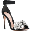 ALEXANDER MCQUEEN embellished bow sandal - Classic shoes & Pumps -