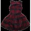 ALEXANDER MCQUEEN plaid dress - Obleke -