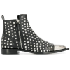 ALEXANDER MCQUEEN studded ankle boots - Botas -