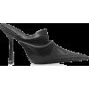 ALEXANDER WANG Black Satin High Heel Van - 经典鞋 -