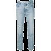 ALEXANDER WANG back zip detail straight - Dżinsy -