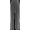 ALEXANDRE VAUTHIER High-rise wide-leg wo - Spodnie Capri -