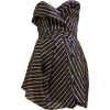 ALEXANDRE VAUTHIER  Strapless striped or - Vestidos -