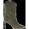 ALEXANDRE VAUTHIER Wayne croc-effect lea - ブーツ -