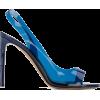 ALEXANDRE VAUTHIER colour block transpar - Sandals -