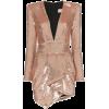 ALEXANDRE VAUTHIER sequin asymmetric min - Kleider -