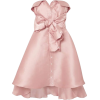ALEXIS MABILLE pink satin dress - Vestiti -