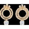 ALICAN ICOZ x ATTICO Banded-Nonna Earrin - Earrings - $665.00  ~ £505.41