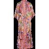 ALICE + OLIVIA Dandi Floral Print Revers - Swetry na guziki -