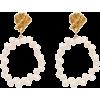 ALIGHIERI Apollo's Story pearl earrings - Earrings -