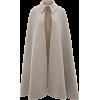 A-LINE DOUBLE FACE CAPE - Jacket - coats -