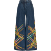 ALL THINGS MOCHI brianna embroidered fla - Jeans -