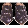 ALTUZARRA  Davidson floral-print silk mu - Classic shoes & Pumps -