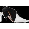 ALTUZARRA Knotted satin-paneled patent-l - Classic shoes & Pumps -