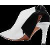 ALTUZARRA Knotted satin-paneled patent-l - Zapatos clásicos -
