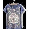 ALVERY flower printed t-shirt - T-shirts -