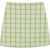 A-Line Mini Skirt - Skirts -