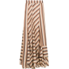 AMIR SLAMA striped long skirt - Skirts -