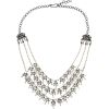 AMRAPALI 18-karat blackened white gold, - Necklaces -
