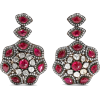 AMRAPALI 18-karat gold ruby and diamond - Ohrringe -