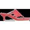 ANDREA WAZEN Sursock 60 mesh and leather - Sandálias -
