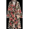 ANNA SUI Rose Garland floral-print crepe - Jakne in plašči -