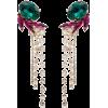 ANTON HEUNIS crystal strand drop earring - Uhani -