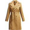A.P.C.  Alexis belted cotton trench coat - Kurtka -