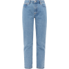 A.P.C.  Straight-leg stonewashed jeans - Jeans -