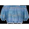 A PEACE TREATY Arima Crop Top - Camisa - curtas - $272.00  ~ 233.62€
