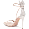 AQUAZZURA Bow Tie 105 embellished sandal - Sandals -