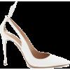 AQUAZZURA Deneuve 105 leather pumps - Klasični čevlji -
