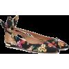 AQUAZZURA Deneuve floral ballet flats - Flats -