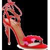AQUAZZURA Happy Hearts Sandals - Sandals - $524.92