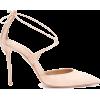 AQUAZZURA Very Matilde 105 suede pumps - Classic shoes & Pumps -