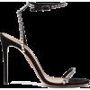 AQUAZZURA Very Vera 105 crystal suede sa - Sandals -