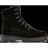 AQUAZZURA black ankle laced boot - Boots -