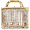 AREA gold mirrored handle bag - Hand bag -