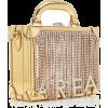 AREA gold mirrored handle bag - Kleine Taschen -